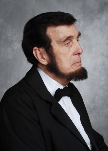 Abraham Lincoln portrayed by Jim Sayre